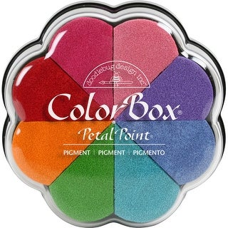 ColorBox Pigment Petal Point Ink Pad 8 Colors-Fun