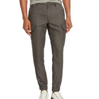 Kenneth Cole Reaction NEW Men's Black Size 38x28 Cargo Jogger Pants