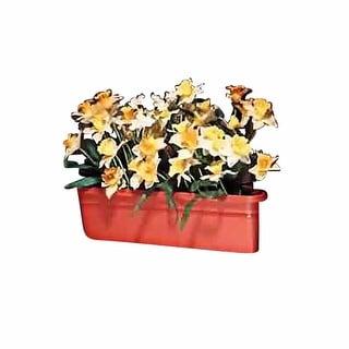 Planter Terra Cotta Plastic Outdoor Planter 20L