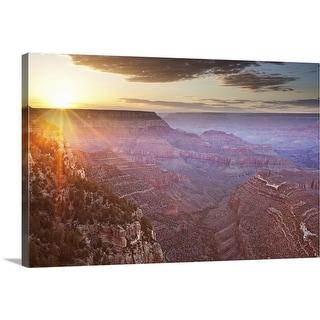 """Grand Canyon National Park in Arizona"" Canvas Wall Art"