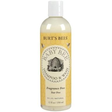 Burt's Bees Baby Bee Shampoo & Wash, Fragrance Free 12 oz