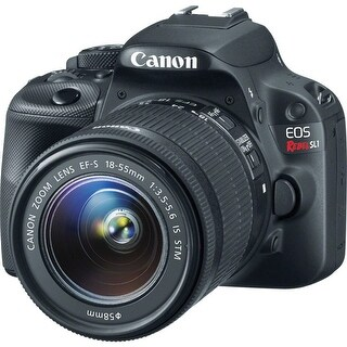 Canon EOS Rebel SL1 DSLR Camera with 18-55mm Lens (Black) (International Model)