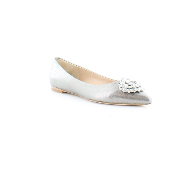 Badgley Mischka Davis II Women's Flats & Oxfords Pewter