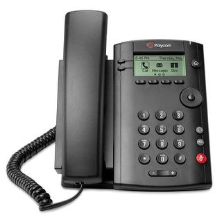 Refurbished Polycom 2200-40250-025 1-line Desktop Phone PoE