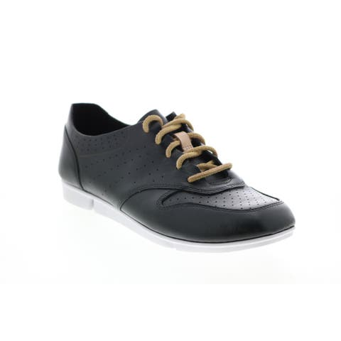 Clarks Tri Actor Black Womens Lifestyle Sneakers