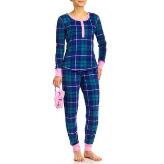 PJ Couture Ginger Snaps Pajama Set With Cat Sleep Mask