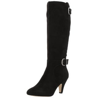 Bella Vita Womens Toni II Almond Toe Mid-Calf Fashion Boots