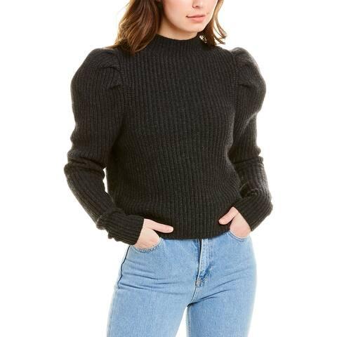 Autumn Cashmere Cashmere & Wool-Blend Sweater - GREY DARK