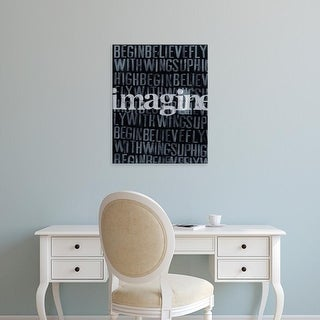 Easy Art Prints Deborah Velasquez's 'Dream, Imagine... II' Premium Canvas Art