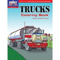 Boost Trucks Coloring Book Gr 1-2