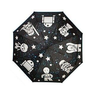Star Wars - Liquid Reactive Color Changing Umbrella 36 x 21in - One Size Fits most