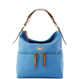 Dooney & Bourke Dillen Medium Zipper Pocket Sac (Introduced by Dooney & Bourke at $288 in Sep 2011) - Sky Blue