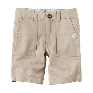 Carter's Little Boys' Herringbone Shorts, 6-Kids