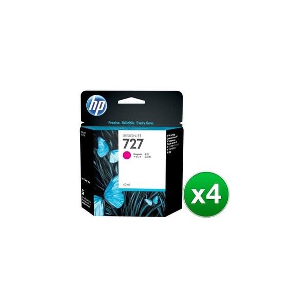 HP 727 300-ml Magenta DesignJet Ink Cartridge (F9J77A)(4-Pack)