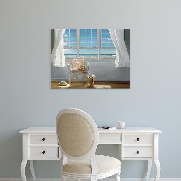Easy Art Prints Karen Hollingsworth's 'A Moment's Peace' Premium Canvas Art