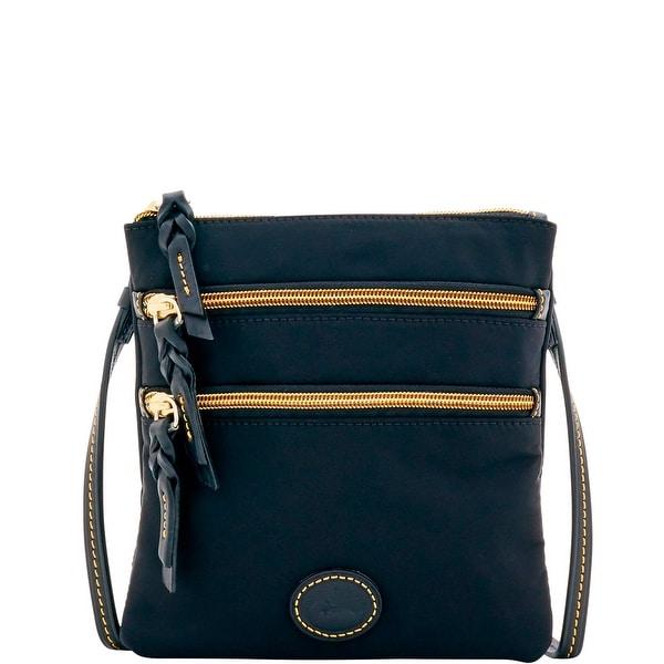 Dooney & Bourke Nylon North South Triple Zip Shoulder Bag (Introduced by Dooney & Bourke at $88 in Feb 2017)
