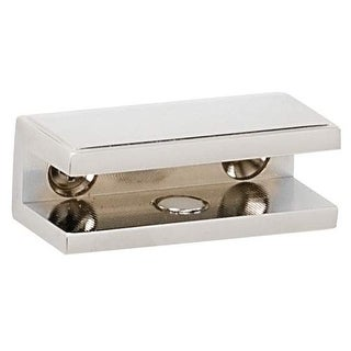 Alno A7550 Glass Shelf Bracket Set from the Arch Collection