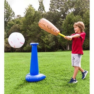 HearthSong Inflatable T-Ball Set - One-size
