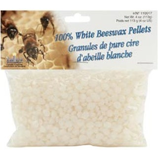 White - Beeswax Pellets 4oz