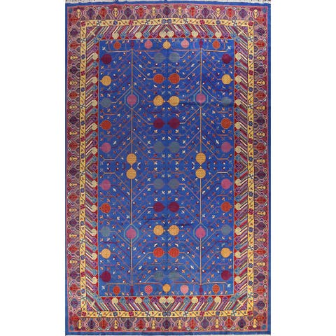 """Large Vegetable Dye Tabriz Persian Area Rug Hand-knotted Wool Carpet - 11'9"""" x 17'7"""""""