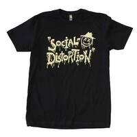 Social Distortion X'd Eye Guy T-Shirt - Medium - Black