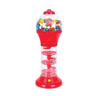 Rhode Island Novelty Spiral Fun Gumball Band, Red or Blue, 18""