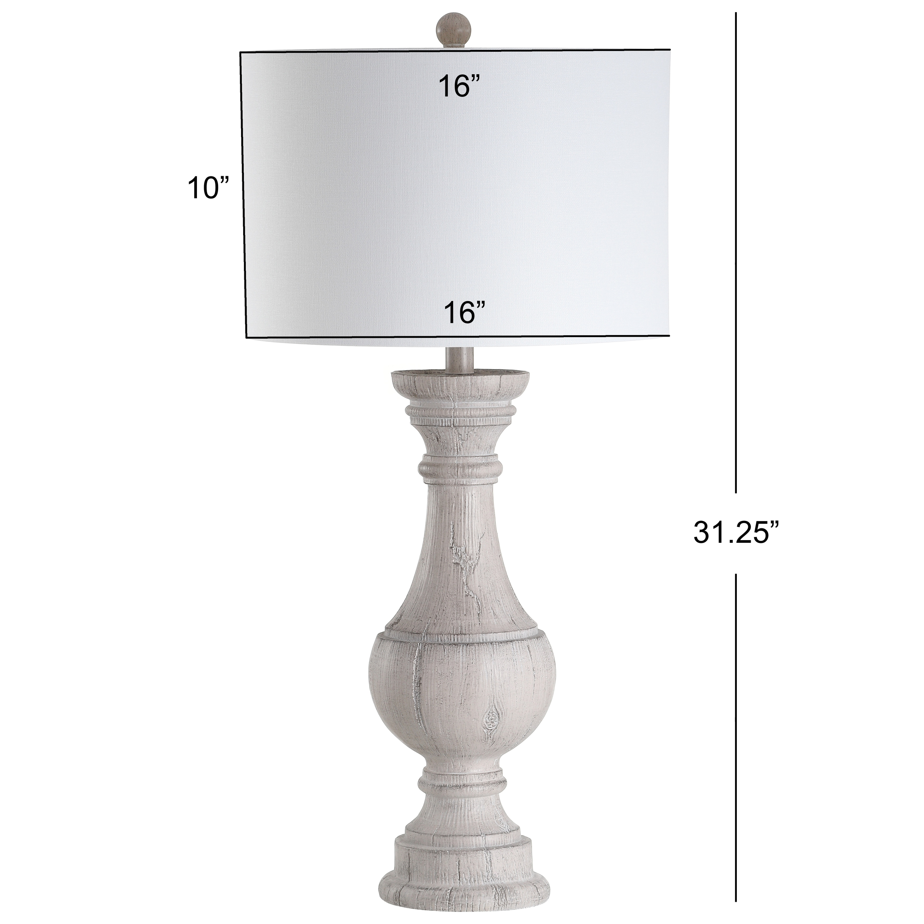 Safavieh Lighting 31 Inch Savion White Led Table Lamp Set Of 2 16 X16 X31 3 Overstock 27123754