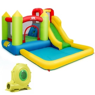 Link to Outdoor Inflatable Bounce House with 480 W Blower - Multi Similar Items in Outdoor Play