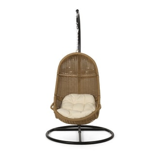Ripley Wicker Hanging Chair by Christopher Knight Home