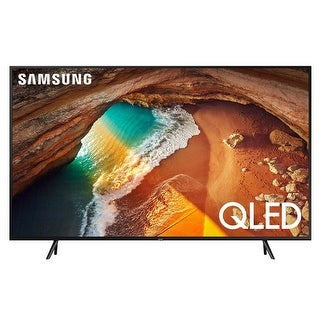"Samsung QN82Q60R 82"" QLED 4K Smart TV with Bixby Intelligent Voice Assistant - Black"