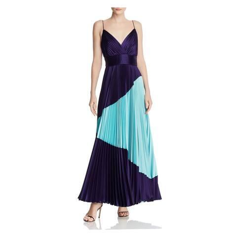 JILL STUART Purple Spaghetti Strap Maxi Dress 6