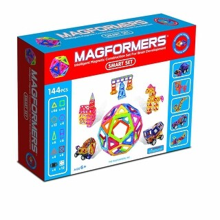 Magformers 144-Piece Magnetic Smart Build Set