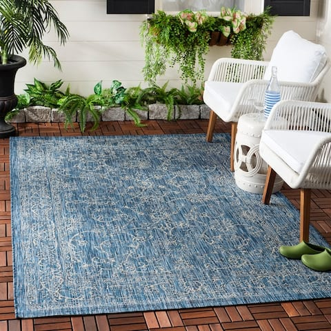 Safavieh Courtyard Aquata Indoor/ Outdoor Rug