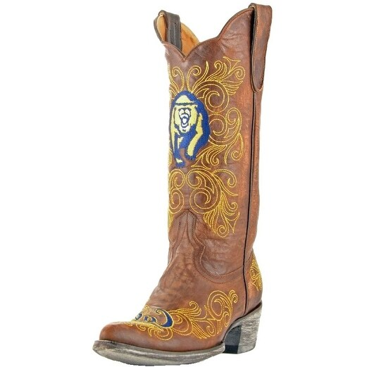 Gameday Boots Womens College Team California Berkeley Brass