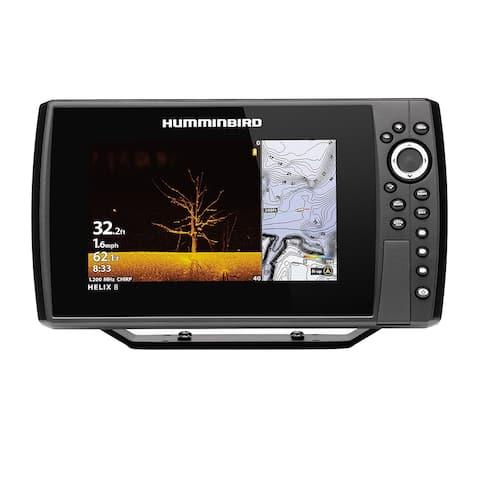Humminbird 410820-1 HELIX 8 CHIRP Fishfinder / GPS Combo G3N w/ SwitchFire Sonar