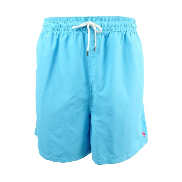 f95d13b351 Shop Polo Ralph Lauren Men's Big & Tall Traveler Swim Trunks - On ...