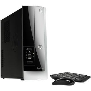 HP Pavilion 400-314 Slimline Desktop AMD E1-2500 1.4GHz 4GB 500GB Windows 10