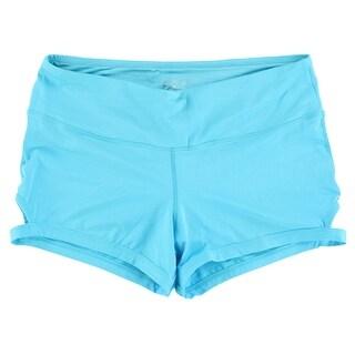 Capezio Womens Studio Calabria Shorts Light Blue - LIGHT BLUE - L