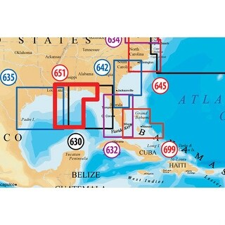 Navionics Platinum Plus Gulf of Mexico Central MSD/651PP Platinum Plus Gulf of Mexico Central