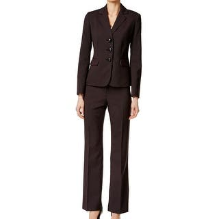 Le Suit NEW Black Womens Size 18 Three-Button Pinstripe Pant Suit Set|https://ak1.ostkcdn.com/images/products/is/images/direct/ddb1722aadfc93076432f291a062fcea026bd8f7/Le-Suit-NEW-Black-Womens-Size-18-Three-Button-Pinstripe-Pant-Suit-Set.jpg?impolicy=medium