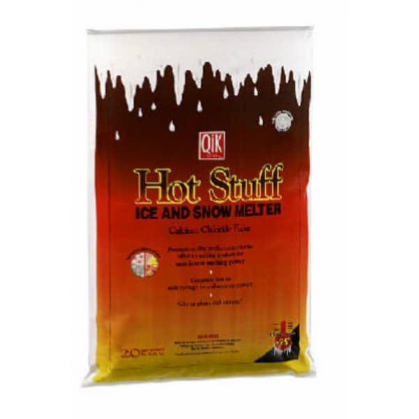 Hot Stuff 01020 Ice & Snow Melter, Calcium Chloride Flakes, 20 Lb