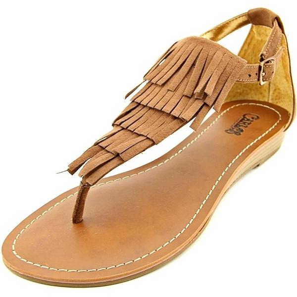 Carlos by Carlos Santana Womens TRINIDAD Fabric Open Toe Casual T-Strap Sandals