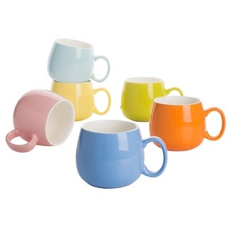 Link to 5-In Assorted Colors Porcelain Coffee Mugs Service for 6 Similar Items in Dinnerware