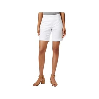 Jag Jeans Womens Ainsley Casual Shorts Classic Fit Pull On