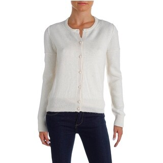 Marc by Marc Jacobs Womens Cardigan Sweater Baby Alpaca Button Down - xs