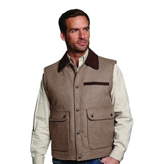 Cripple Creek Outerwear Vest Mens Melton Button Wool CR38066