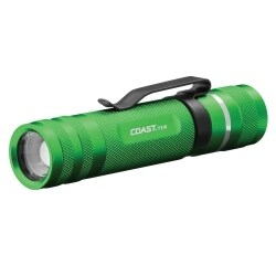 Coast COS20758 PX1R Rechargeable LED Flashlight, Green Body