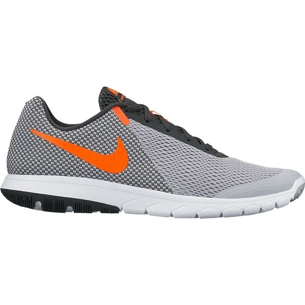 2a3c04401add6 Shop Nike Flex Experience RN 6 Wolf Grey Total Crimson Anthracite White Men s  Running Shoes - Free Shipping Today - Overstock - 18281138