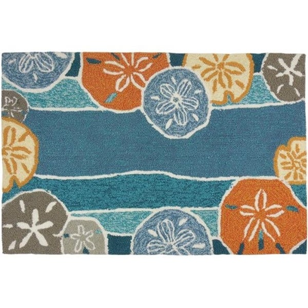 Homefires Rugs Pps Jb112c Beachcomber Area Rug 3 X 5 Ft Free Shipping Today 26000267
