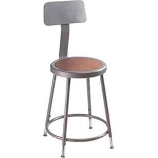 National Public Seating Steel Backrest for 6200 & 6300 Series Stools